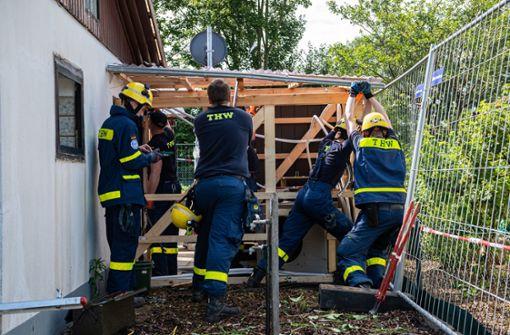 Gartenlaube nach Missbrauchsfall in Münster abgerissen