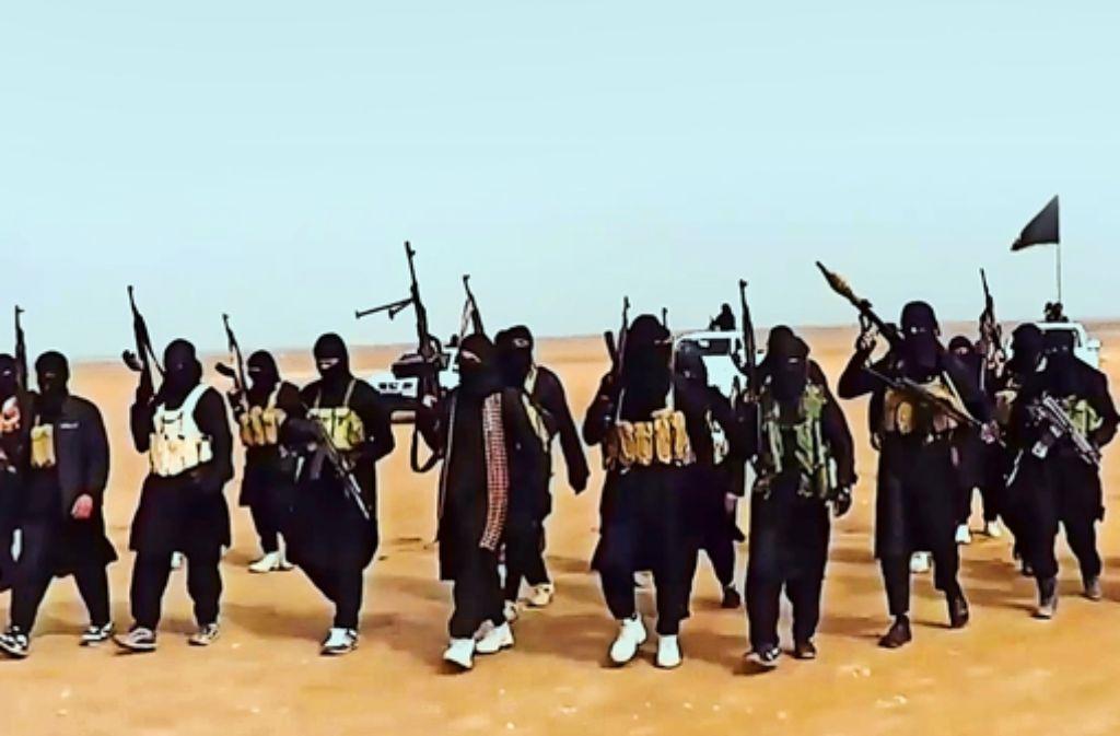 Die IS-Brigaden  verbreiten im Irak Angst und Schrecken. Foto: ISIL