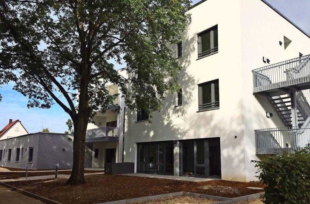 Das neue Wohnhaus in Ebersbach ist jetzt bezugsfertig. Foto: /Diakonie