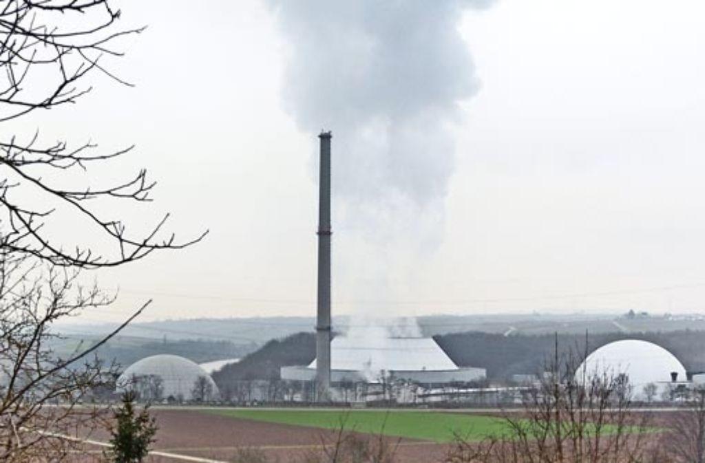 Geht es nach der EnBW, dann soll Block I des Atomkraftwerks Neckarwestheim abgerissen werden. Doch es gibt Kritik von mehreren Bürgerinitiativen. Foto: factum/Granville