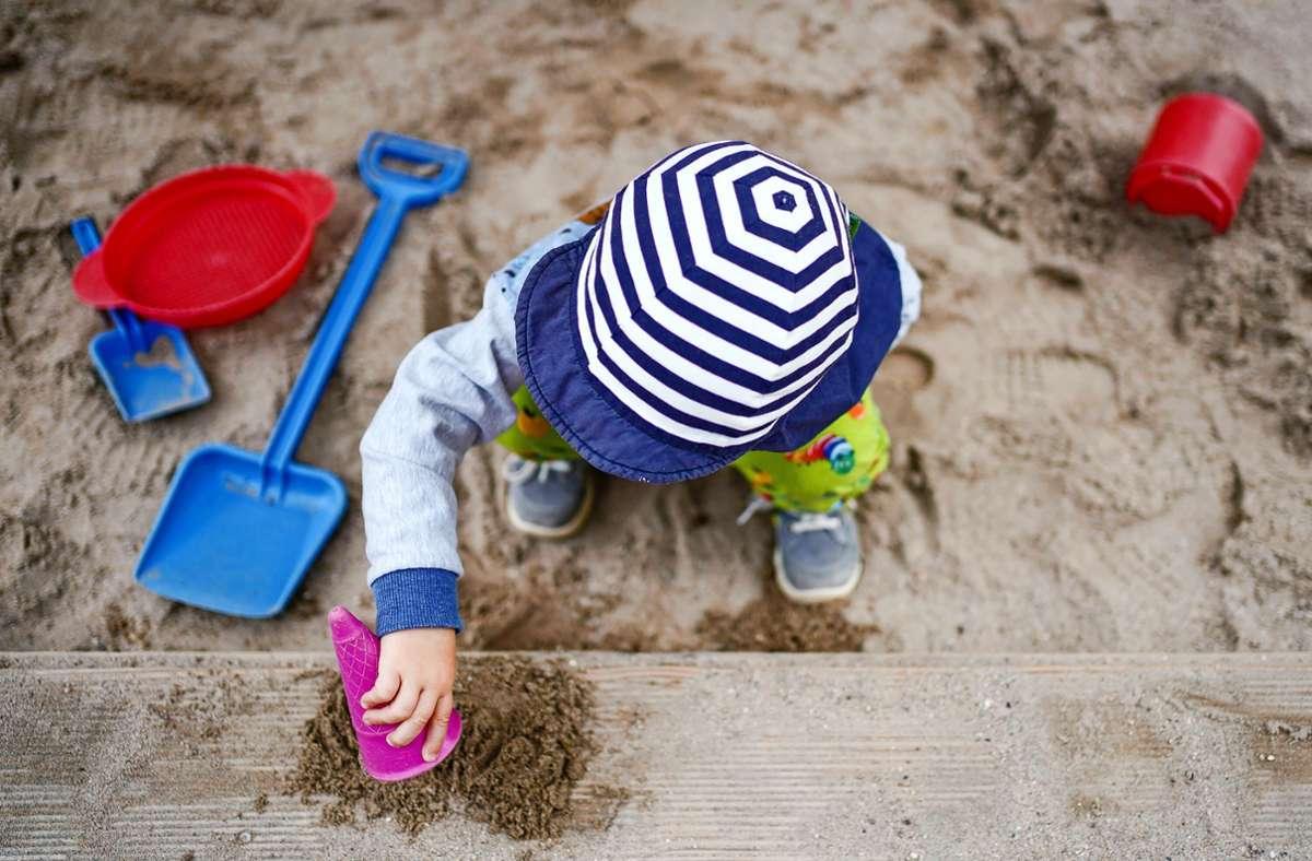 Ein Platz zum Sandeln: An der Böblinger Straße in Kaltental ist ein neuer Kindergarten geplant. Details stehen noch nicht fest. Foto: dpa/Uwe Anspach