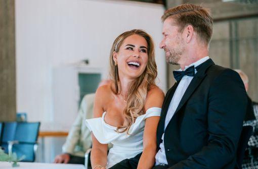 """Frühere Miss Germany freut sich auf ein """"absolutes Wunschkind"""""""
