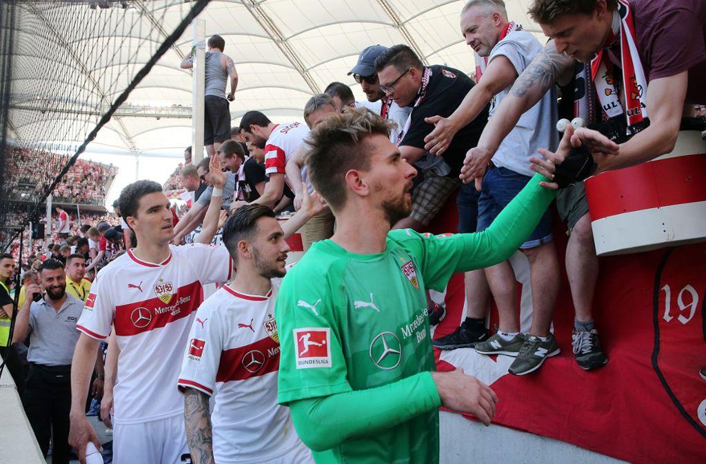 Die Spieler des VfB Stuttgart starten im Juli mit der Vorbereitung. Foto: Pressefoto Baumann