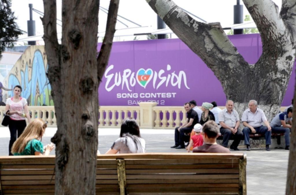 Am Samstag ist es soweit: Beim Eurovision Song Contest in Baku singen wieder Musiker aus ganz Europa um die Wette. Foto: dpa