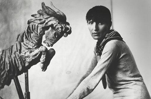 Mit ihren Skulpturen schrieb sie Sport- und Filmgeschichte