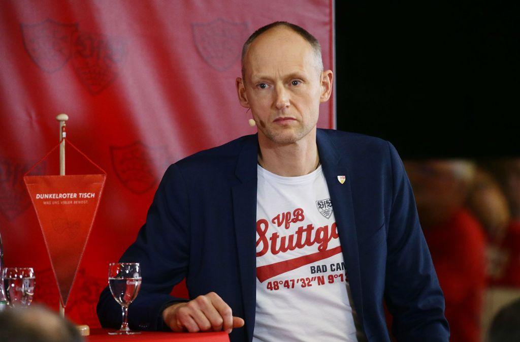 Christian Riethmüller stellt sich am 15. Dezember zur Wahl und will Präsident des VfB Stuttgart werden. Foto: Baumann