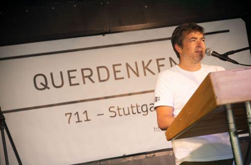 """Wer die """"Corona-Demonstrationen"""" in Stuttgart organisiert"""