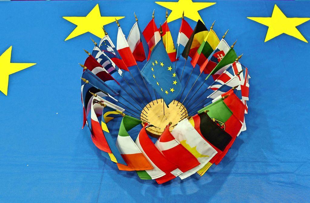 Die Europäische Union steht derzeit stark im Fokus. Foto: dpa