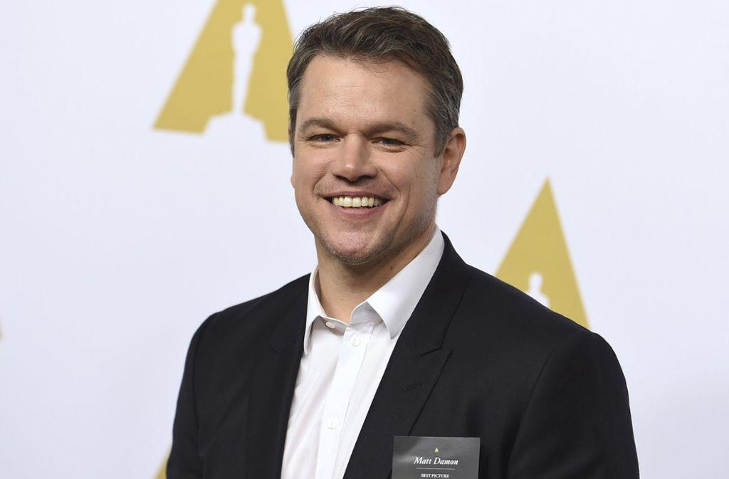 Matt Damon  will erneut für Regisseur Mangold vor die Kamera treten. Foto: dpa/Jordan Strauss