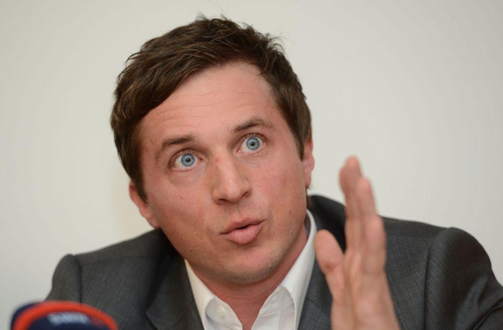 SPD-Generalsekretär Sascha Binder kämpft für ein Volksbegehren für beitragsfreie Kitas. Foto: dpa