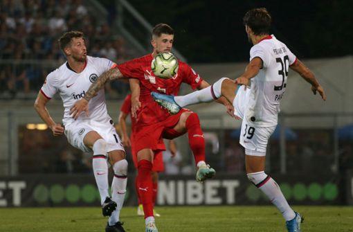 Eintracht Frankfurt fertigt Vaduz ab