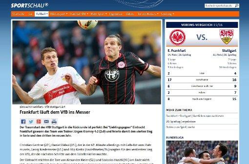 Frankfurt läuft dem VfB ins Messer