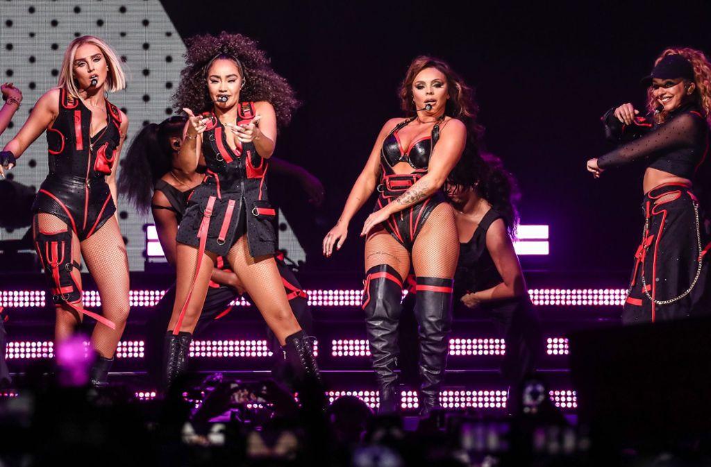 Little Mix in der Stuttgarter Porsche-Arena Foto: Lichtgut/Christoph Schmidt