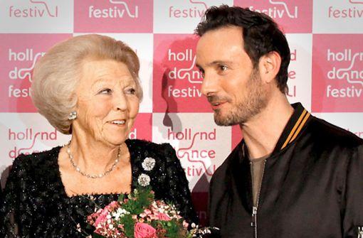 Ex-Königin Beatrix ist ein  Fan von Gauthier Dance