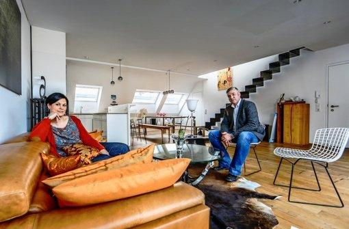 Stuttgarter wohnzimmer ber den d chern der stadt stuttgart stuttgarter zeitung - Wohnzimmer stuttgart ...