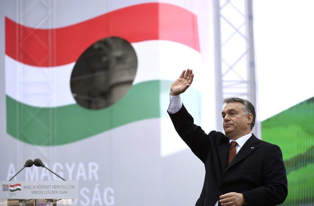 Viktor Orban ist mit einem Gesetz gegen die Flüchtlingsquote der EU gescheitert. Foto: MTI