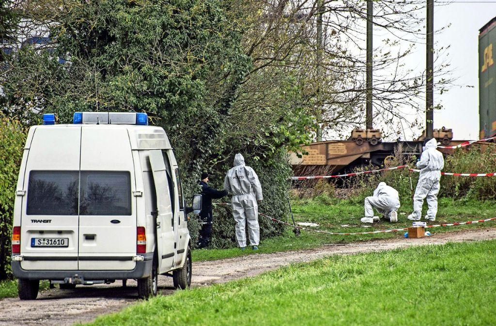 Ein Zufall hilft der Polizei: Im November hatte ein Spaziergänger die Leiche von Katharina K. auf einem Gartengrundstück in Asperg entdeckt. Foto: SDMG