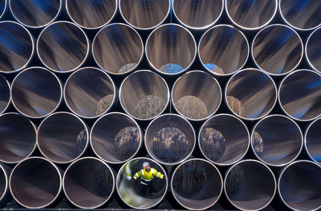 Beim Milliardenprojekt Nord Stream 2 bahnt sich ein Kompromiss an. Foto: ZB