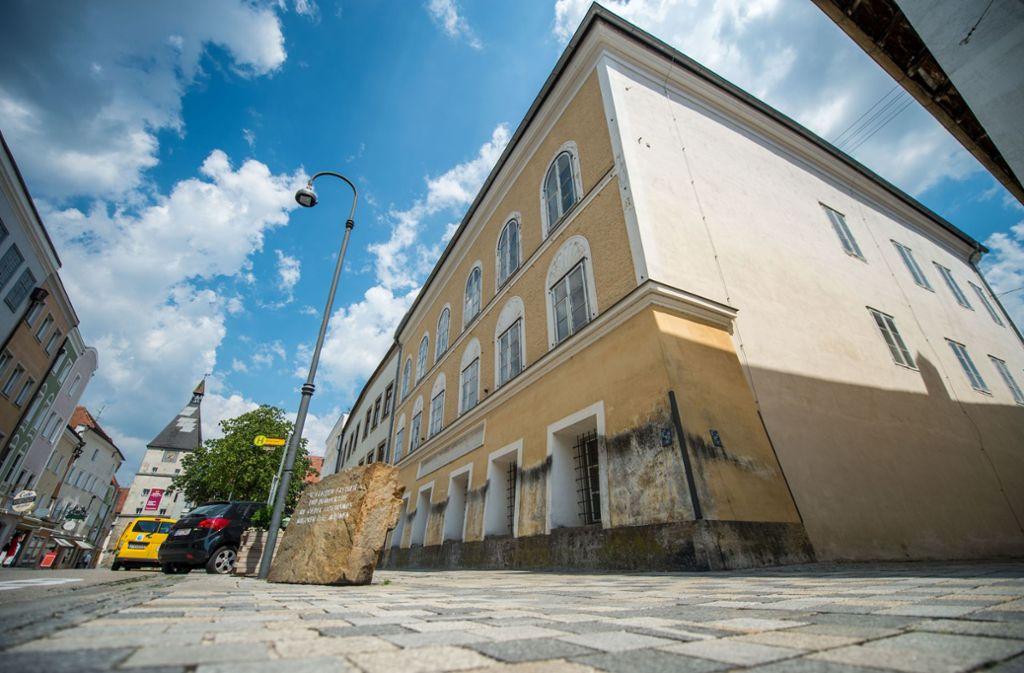 Das Geburtshaus von Adolf Hitler wird künftig von der Polizei genutzt. Foto: Lino Mirgeler/dpa