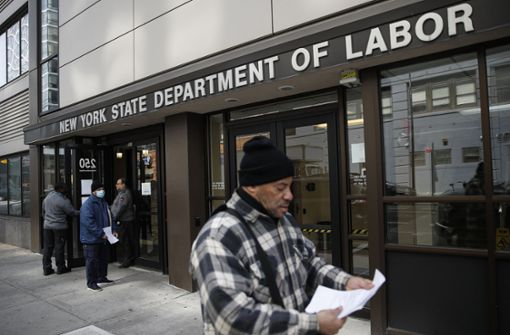 Schlimmste Lage auf dem Arbeitsmarkt seit dem Zweiten Weltkrieg