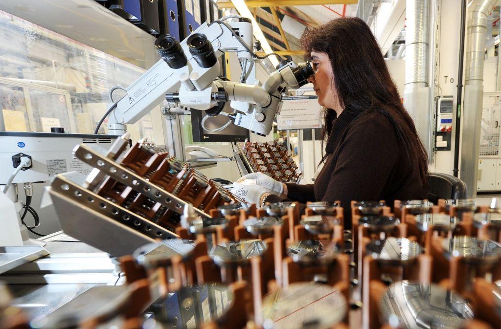 Bei Bosch hängen weltweit alleine  50000 Arbeitsplätze vom Diesel ab. Foto: dpa