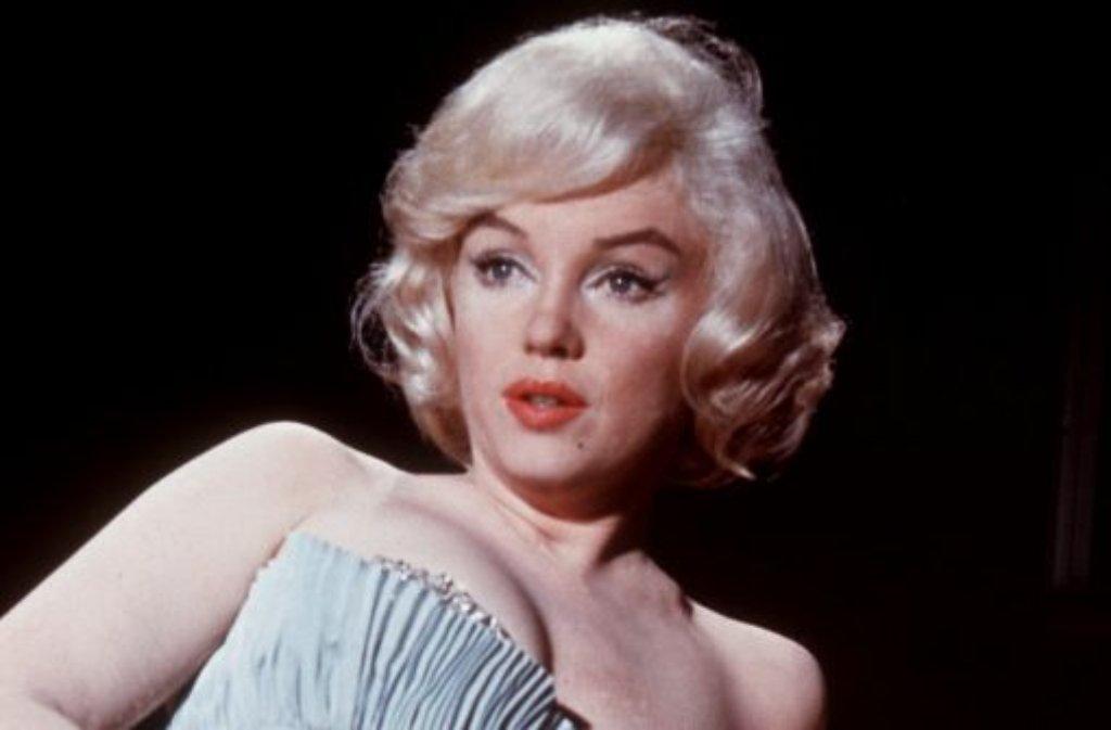 In Hollywood sind Künstlernamen an der Tagesordnung. Den wohl bekanntesten trägt Marilyn Monroe. Ihr eigentlicher Name laute Norma Jeane Baker oder auch Norma Jeane Mortenson.  Foto: dpa