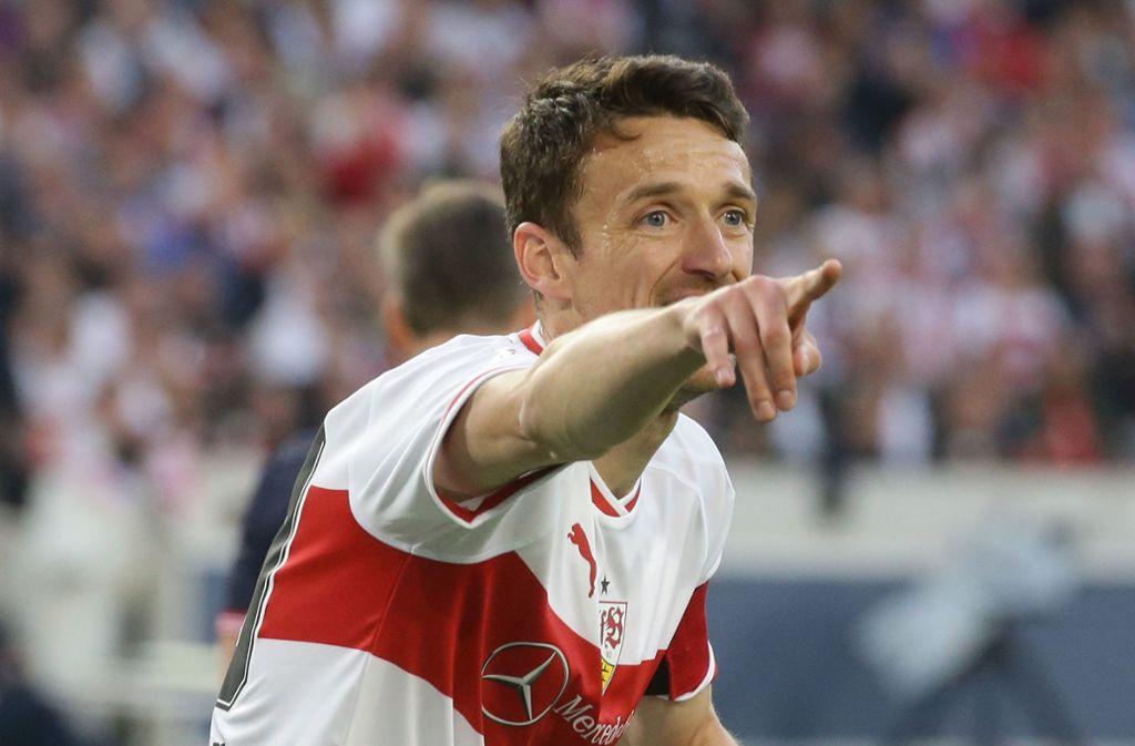 Er war kein lauter Spieler, aber doch einer, der den Weg beim VfB Stuttgart gewiesen hat: Christian Gentner, dessen auslaufender Vertrag nicht verlängert wird. Foto: Baumann