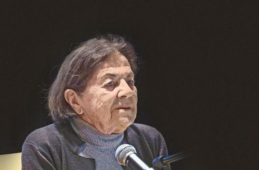 Wie Eva Erben das KZ in Auschwitz überlebte