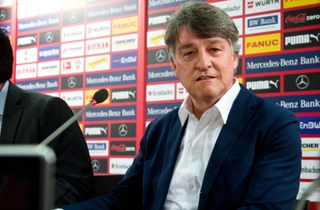 Bernd Wahler, Präsident des VfB Stuttgart. (Archivbild) Foto: dpa