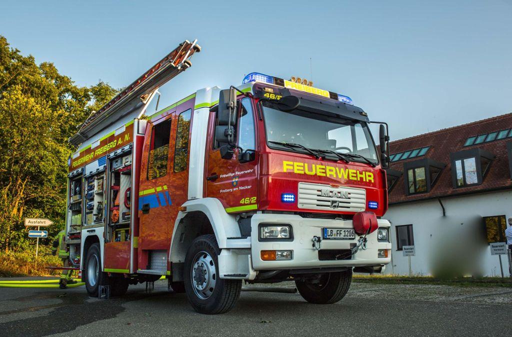 Noch vor dem Eintreffen der Feuerwehr rettete ein 30-Jähriger seinen Nachbarn. Foto: 7aktuell.de//Simon Adomat