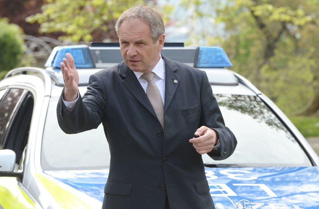 Der damalige Innenminister Reinhold Gall (SPD) stieß im Jahr 2011 die groß angelegte Polizeireform ab. Foto: dpa