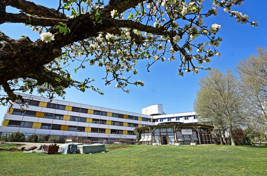 Auch im Krankenhaus Leonberg gibt es keine Corona-Patienten Foto: factum/Simon Granville
