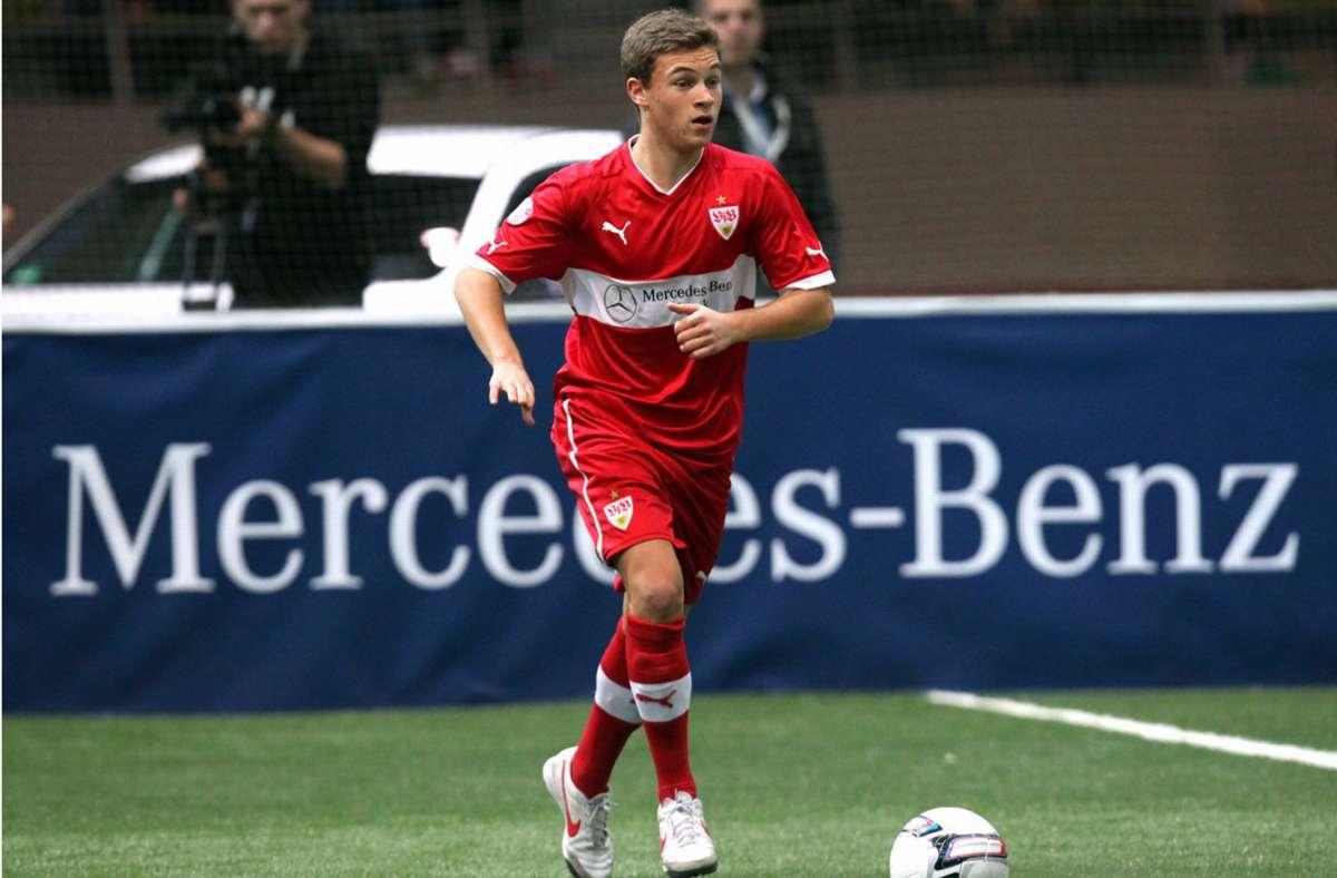 Damals noch beim VfB Stuttgart: Joshua Kimmich ist der heute bekannteste Fußballer, der beim Juniorcup in den vergangenen zehn Jahren als bester Spieler des Turniers ausgezeichnet wurde. Foto: imago