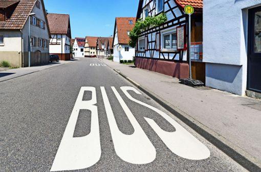Bushaltestelle in der Ortsmitte wird barrierefrei