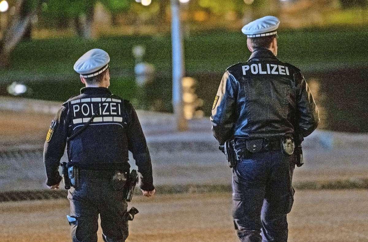 Ausgangssperren erleichtern der Polizei die Kontrollen. Foto: 7aktuell.de/Oskar Eyb/7aktuell.de | Oskar Eyb
