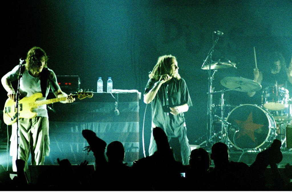 Die Live-Übertragungen des Rockpalasts waren wie hier bei Rage Against The Machine eher krisselig als sauber und adrett. Foto: WDR