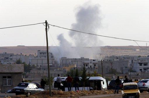 Nordsyrische Stadt Kobane heftig umkämpft
