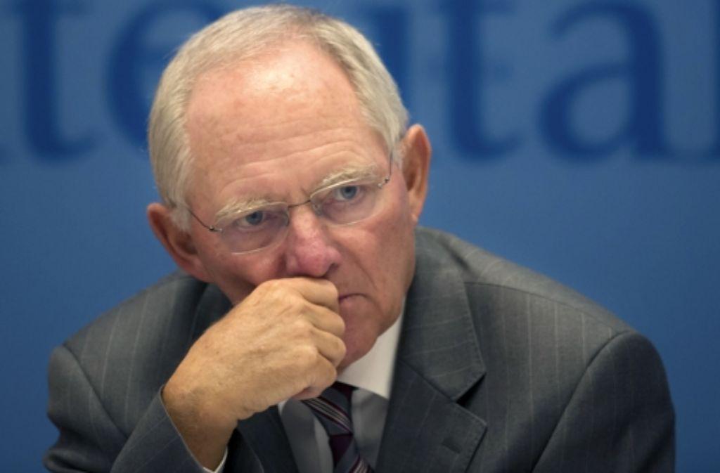 Die Bundes-CDU in Person von Finanzminister Schäuble unterstützt Foto: dapd