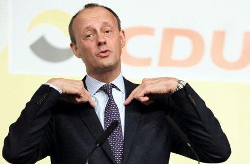Merz will offenbar als CDU-Vorsitzender kandidieren