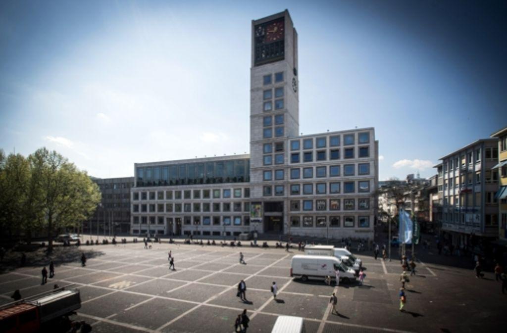 Im Rathaus gibt es Unstimmigkeiten bezüglich der Besetzung der Bezirksvorsteherstelle im Stuttgarter Osten. Foto: Achim Zweygarth