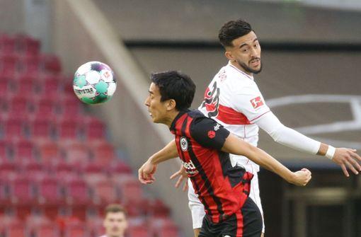 Nicolas Gonzalez mit Vollgas gegen Eintracht Frankfurt