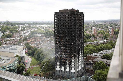Weitere Hochhäuser mit mangelhaftem Feuerschutz