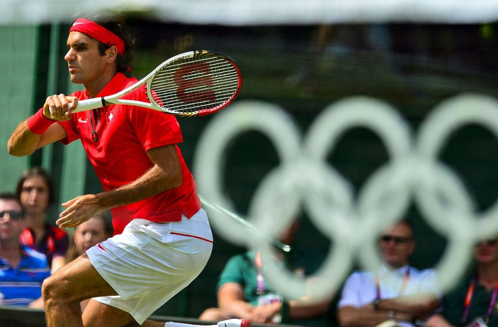 Roger Federer geht in Tokio 2020 an den Start. Foto: AFP/LUIS ACOSTA