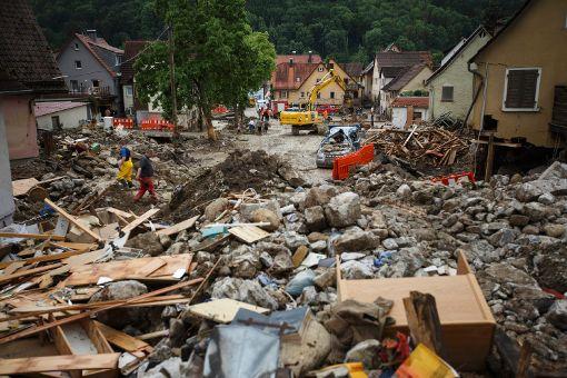 Braunsbach nach der Katastrophe
