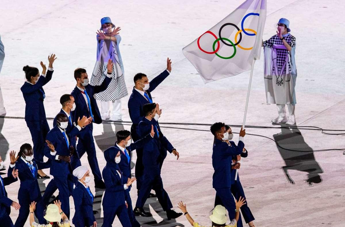 Das Refugee Olympic Team ist auch bei den Olympischen Spielen in Tokio am Start. Diesmal mit 29 Athleten aus zwölf Disziplinen. Foto: WITTERS/JohannaLundberg