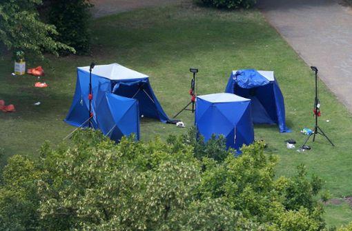 Drei Tote bei Terrorangriff in englischem Park