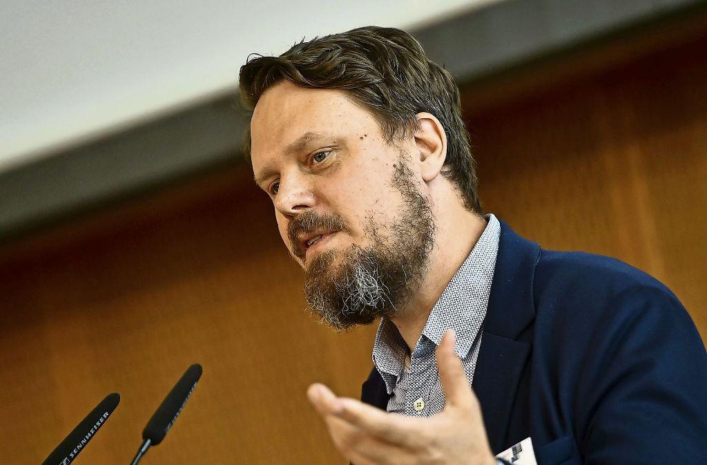 Der IT-Experte Sandro Gaycken kennt die Untiefen des Darknet. Foto: dpa