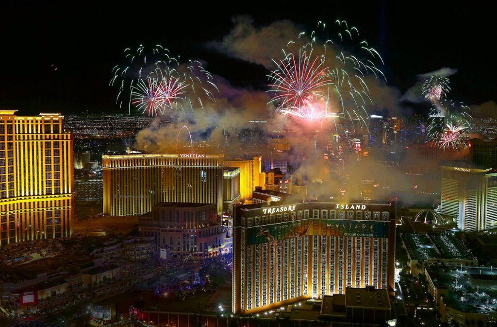 Zockerparadies: Las Vegas im US-Bundesstaat Nevada Foto: dpa