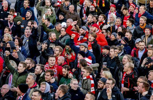 Mehrere Union-Fans in Rotterdam verletzt