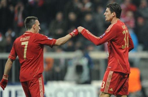 Der FC Bayern ist im Achtelfinale